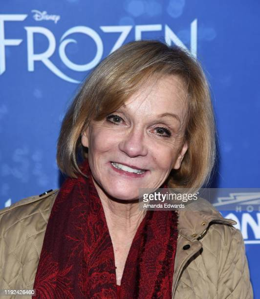 Cathy Rigby arrives at the LA Premiere Of Frozen at the Hollywood Pantages Theatre on December 06 2019 in Hollywood California