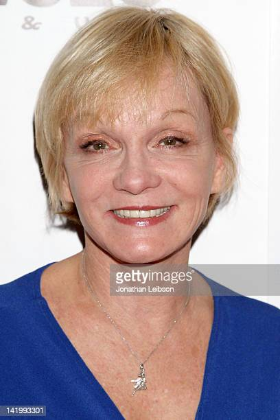 Cathy Rigby arrives to the Mamma Mia Los Angeles Opening Night at the Pantages Theatre on March 27 2012 in Hollywood California