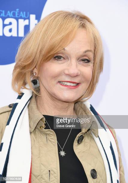 Cathy Rigby attends the 6th annual Gold Meets Golden party hosted by Nicole Kidman and Nadia Comaneci at The House on Sunset on January 5 2019 in...