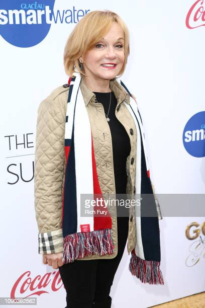 Cathy Rigby attends the 6th annual Gold Meets Golden party hosted by Nicole Kidman and Nadia Comaneci at The House on Sunset on January 05 2019 in...