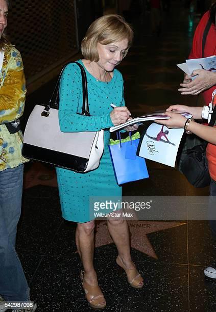 Cathy Rigby is seen on June 24 2016 in Los Angeles California