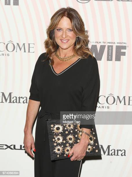 Cathy Schulman attends the Women In Film 2018 Crystal Lucy Awards held at The Beverly Hilton Hotel on June 13 2018 in Beverly Hills California