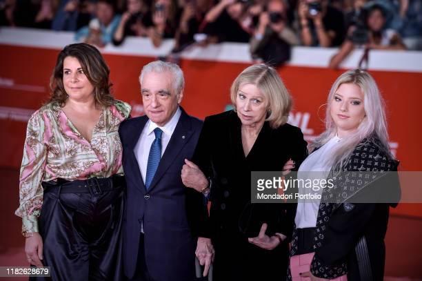 Cathy Scorsese Martin Scorsese Helen Morris Francesca Scorsese at Rome Film Fest 2019 Rome October 21st 2019