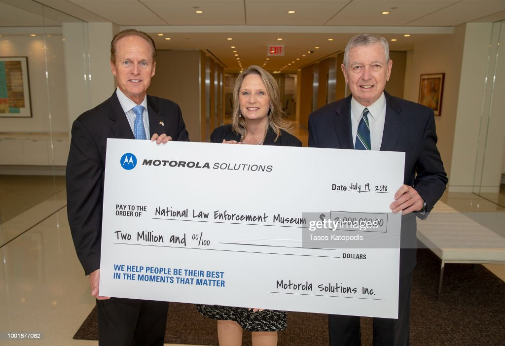 Motorola Solutions Delivers Final Installment Of Sponsorship Gift To National Law Enforcement Museum