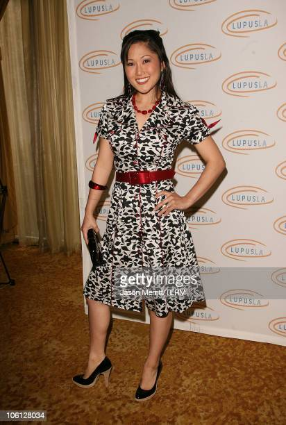 Cathy Shim during Hollywood Bag Ladies Lupus Luncheon Honoring Carrie Brillstein at Regent Beverly Wilshire Hotel in Beverly Hills California United...