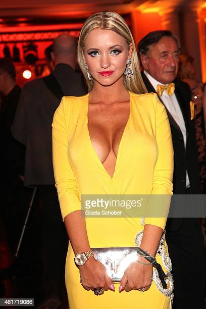Cathy 'Spatzi' Lugner during the German Filmball 2015 at Hotel Bayerischer Hof on January 17 2015 in Munich Germany