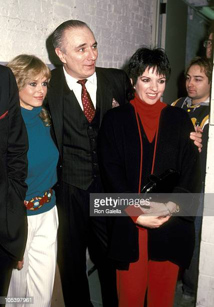 Cathy St George Philip Bosco and Liza Minnelli during Some Men Need Help Opening Night at 47th Street Theater in New York City New York United States