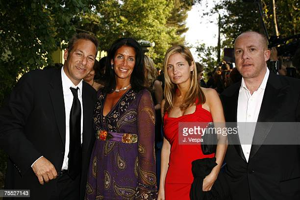 Cathy Winterstern Henry Winterstern Holly Wiersma and Cassian Elwes at the Moulin de Mougins in Mougins France