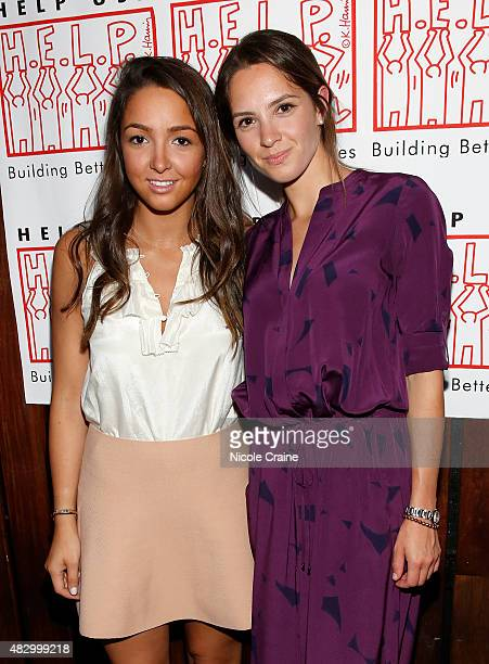 Catie Cole and Emily Cole attend HELP USA Summer In The City Party at The DL on August 4 2015 in New York City