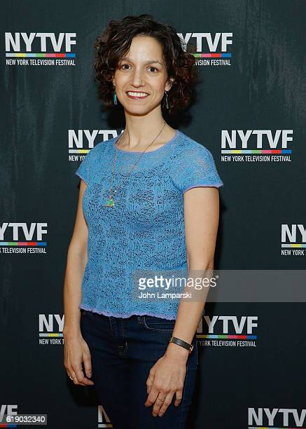 Catie Lazarus attends Development Day Panels during the 12th Annual New York Television Festival at Helen Mills Theater on October 29 2016 in New...