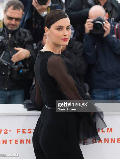 Catrinel Marlon and Rodica Lazar attend the photocall for The Whistlers during the 72nd annual Cannes Film Festival on May 19 2019 in Cannes France