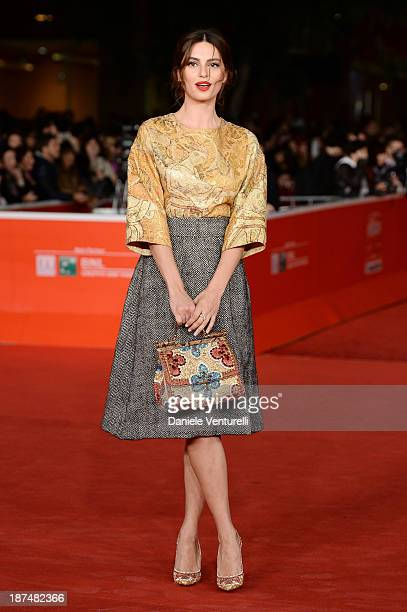 Catrinel Marlon attends 'Le Tentazioni Del Dottor Antonio' Premiere Restored with the contribuiton of Dolce Gabbanaduring The 8th Rome Film Festival...
