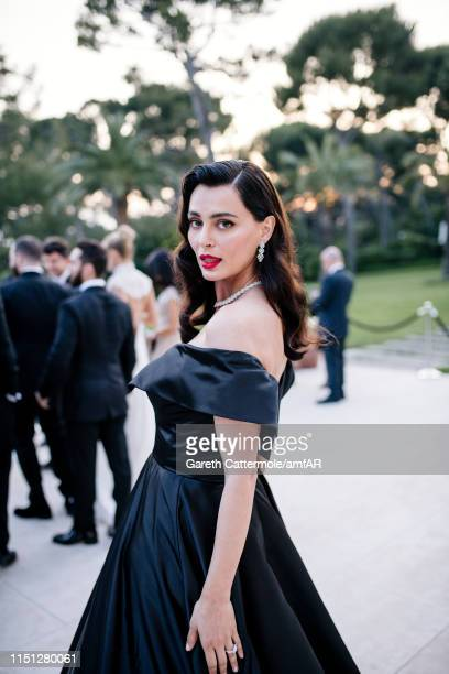 Catrinel Marlon attends the amfAR Cannes Gala 2019 at Hotel du CapEdenRoc on May 23 2019 in Cap d'Antibes France