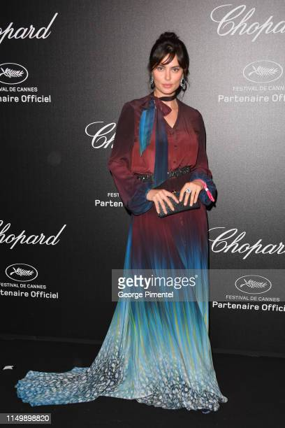 Catrinel Marlon attends the Chopard Party during the 72nd annual Cannes Film Festival on May 17 2019 in Cannes France