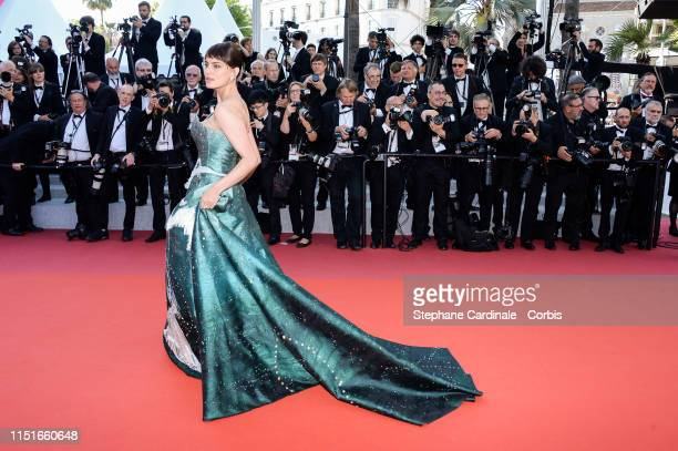 Catrinel Marlon attends the Closing Ceremony Red Carpet during the 72nd annual Cannes Film Festival on May 25 2019 in Cannes France