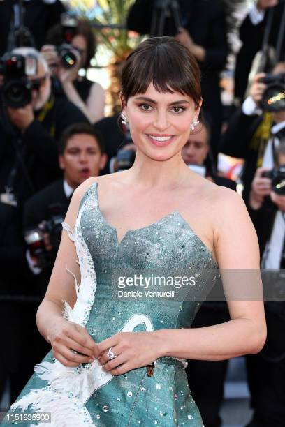 Catrinel Marlon attends the closing ceremony screening of The Specials during the 72nd annual Cannes Film Festival on May 25 2019 in Cannes France
