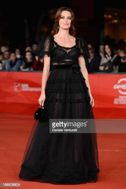 Catrinel Marlon attends 'The Motel Life' Premiere during the 7th Rome Film Festival at the Auditorium Parco Della Musica on November 16 2012 in Rome...