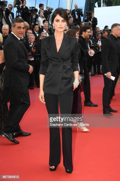 Catrinel Marlon attends the screening of Ash Is The Purest White during the 71st annual Cannes Film Festival at Palais des Festivals on May 11 2018...