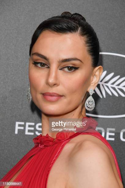 Catrinel Marlon attends the The Chopard Trophy event during the 72nd annual Cannes Film Festival on May 20 2019 in Cannes France