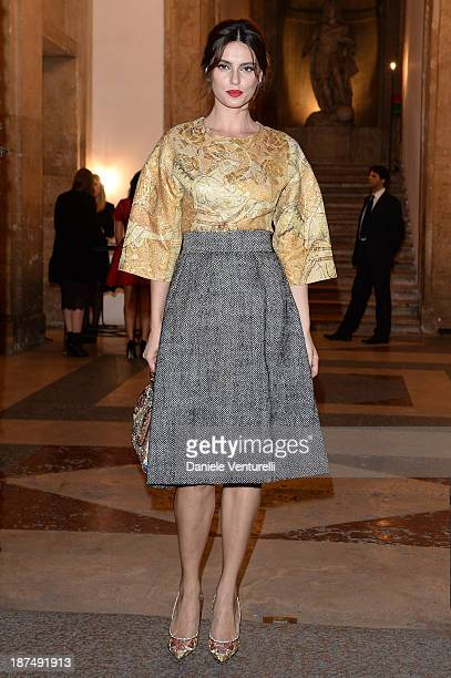 Catrinel Marlon attends the Vanity Fair Dinner during The 8th Rome Film Festival at Villa Medici on November 9 2013 in Rome Italy
