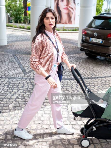 Catrinel Marlon is seen at the Hotel Martinez during the 72nd annual Cannes Film Festival on May 20, 2019 in Cannes, France.