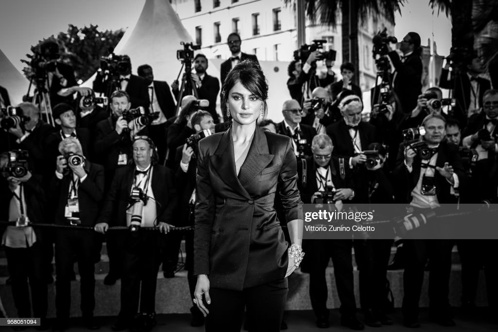 Image has been digitally retouched) Catrinel Menghia attends the screening of 'Ash Is The Purest White (Jiang Hu Er Nv)' during the 71st annual Cannes Film Festival at on May 8, 2018 in Cannes, France.