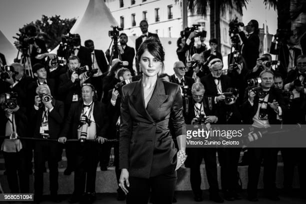 Image has been digitally retouched Catrinel Menghia attends the screening of 'Ash Is The Purest White ' during the 71st annual Cannes Film Festival...