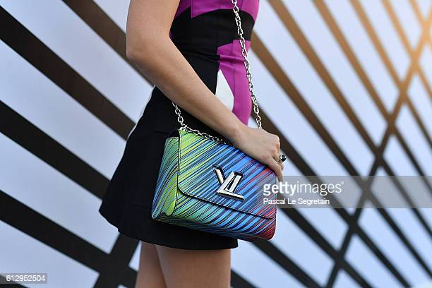 Catriona Balfe attends the Louis Vuitton show as part of the Paris Fashion Week Womenswear Spring/Summer 2017 on October 5, 2016 in Paris, France.