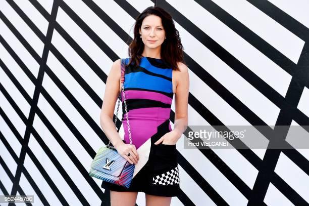 Catriona Balfe lors du défilé de mode prêtàporter printempsété 2017 'Louis Vuitton' le 5 octobre 2016 place Vendôme Paris France