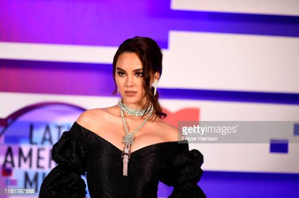 Catriona Gray attends the 2019 Latin American Music Awards at Dolby Theatre on October 17 2019 in Hollywood California