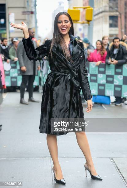 Catriona Gray is seen on January 08 2019 in New York City