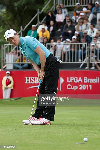 Catriona Matthew of Scotland during the second round of the HSBC LPGA Brazil Cup at the Itanhanga Golf Club on May 29, 2011 in Rio de Janeiro, Brazil.