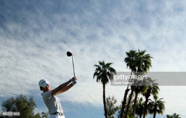 Catriona Matthew of Scotland in action during the proam as a preview for the 2017 ANA Inspiration held on the Dinah Shore Tournament Course at the...