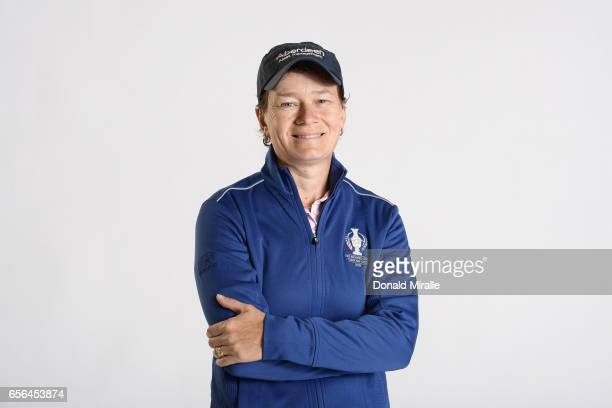 Catriona Matthew of Scotland poses for a portrait during the KIA Classic at the Park Hyatt Aviara Resort on March 21 2017 in Carlsbad California