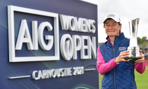 GBR: AIG Women's Open 2021 Trophy Exhibition