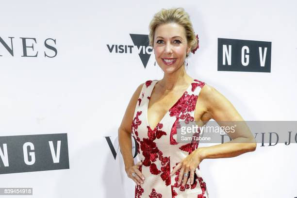 Catriona Rowntree arrives ahead of the NGV Gala at NGV International on August 26 2017 in Melbourne Australia