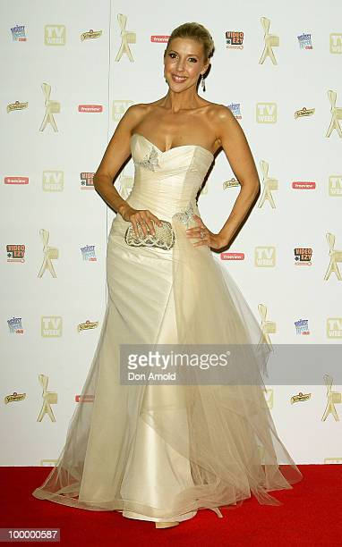 Catriona Rowntree arrives at the 52nd TV Week Logie Awards at Crown Casino on May 2 2010 in Melbourne Australia