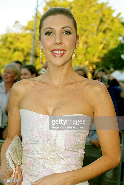 Catriona Rowntree arrives for the premiere of the film 'The Others' at Hoyts Cinemas Fox Studios on October 31 2001 in Sydney Australia
