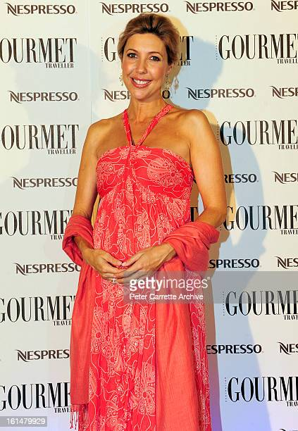 Catriona Rowntree arrives for the third annual Gourmet Traveller Travel Awards at the Sydney Opera House on May 27 2009 in Sydney Australia