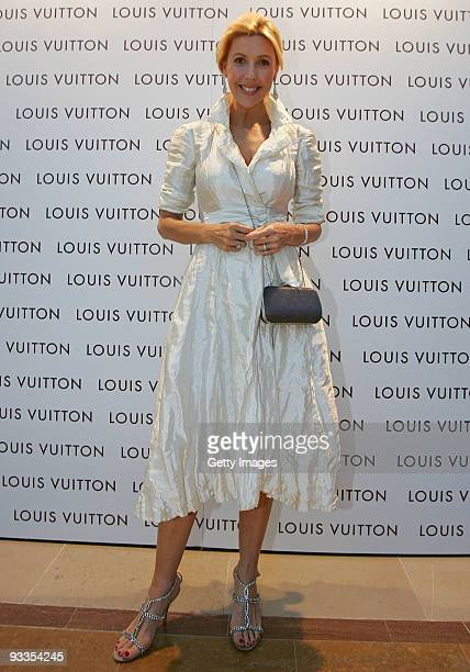 Catriona Rowntree attends the opening of the new Louis Vuitton store at Chadstone Shopping Centre on November 24 2009 in Melbourne Australia