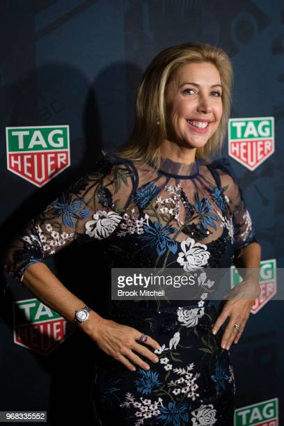 Catriona Rowntree attends the TAG Heuer 'Museum In Motion' Australian Launch at Museum of Contemporary Art on June 6 2018 in Sydney Australia