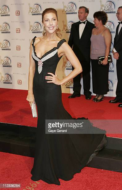 Catriona Rowntree during 2006 TV Week Logie Awards Arrivals at Crown Casino in Melbourne VIC Australia