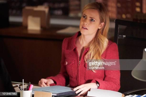 SUITS 'Cats Ballet Harvey Specter' Episode 806 Pictured Amanda Schull as Katrina Bennett