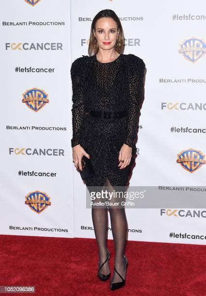 Catt Sadler attends FCancer's 1st Annual Barbara Berlanti Heroes Gala at Warner Bros Studios on October 13 2018 in Burbank California