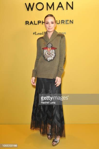 Catt Sadler attends Sisterhood Of Leaders hosted by Ralph Lauren Fragrances and Women In Film at Waldorf Astoria Beverly Hills on October 24, 2018 in...
