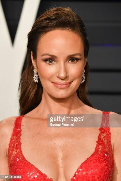 Catt Sadler attends the 2019 Vanity Fair Oscar Party hosted by Radhika Jones at Wallis Annenberg Center for the Performing Arts on February 24 2019...