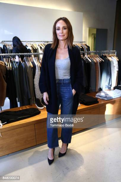 Catt Sadler attends the Fashion Island's StyleWeekOC Presented By SIMPLY on September 16 2017 in Newport Beach California