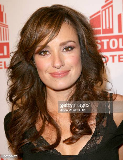 Catt Sadler during Grand Opening of the Stoli Hotel in Hollywood May 2 2007 at Stoli Hotel in Hollywood California United States