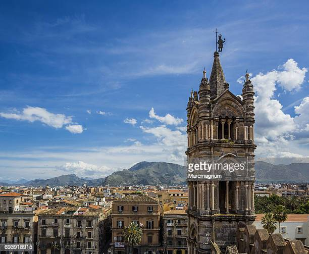 Cattedrale (cathedral) di Palermo, the bell tower