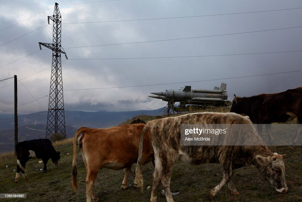 Azerbaijan Counts The Costs Of War Over Nagorno-Karabakh : Nachrichtenfoto